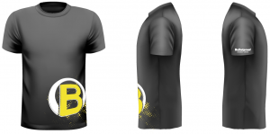Bulletproof Logo T Shirt Yellow